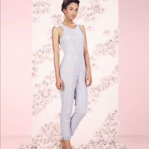 LC Lauren Conrad Runway Collection Lace Jumpsuit